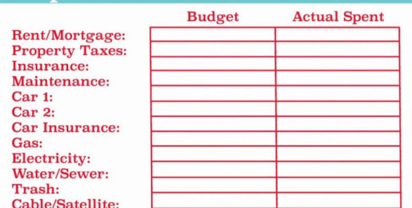Suze Orman Budget Spreadsheet Intended For Suze Orman Spreadsheet – Spreadsheet Collections