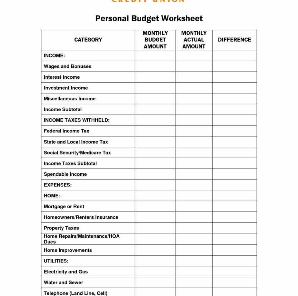 Suze Orman Budget Spreadsheet Throughout Example Of Suze Orman Budget Spreadsheet Budgetrksheet Pictures