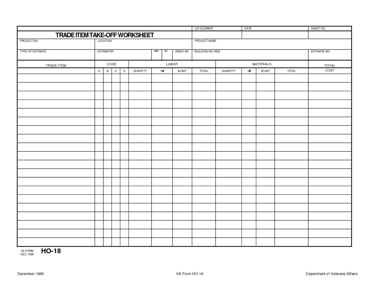 Take Off Spreadsheet Throughout Concrete Quantity Takeoff Excel Spreadsheet  Homebiz4U2Profit