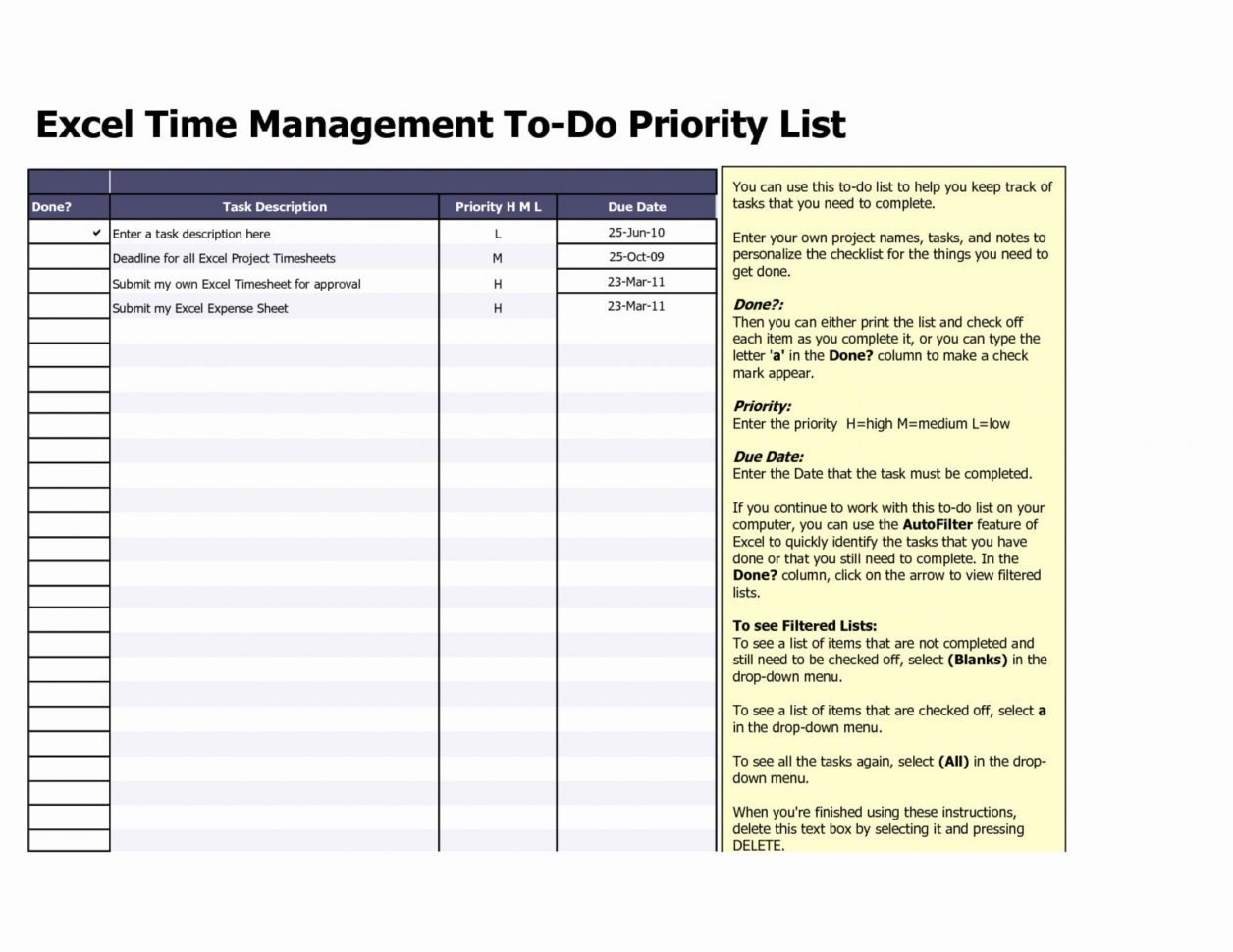 Task List Template Excel Spreadsheet With Regard To 017 Weekly Todo List Template Task Excel Spreadsheet My Templates