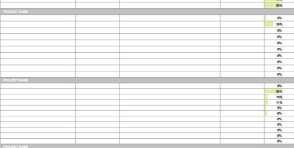 Task List Template Excel Spreadsheet With Regard To 15 Free Task List Templates  Smartsheet With Regard To Project