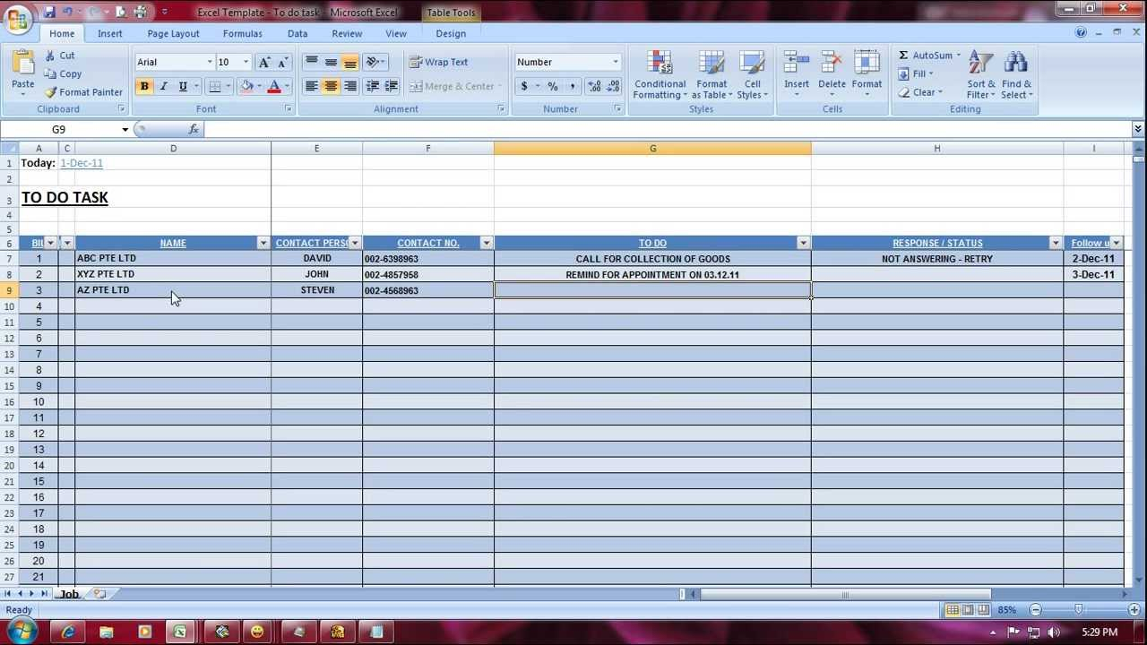 Task Manager Excel Spreadsheet For Task Management Excel Spreadsheet Template Manager Tracking