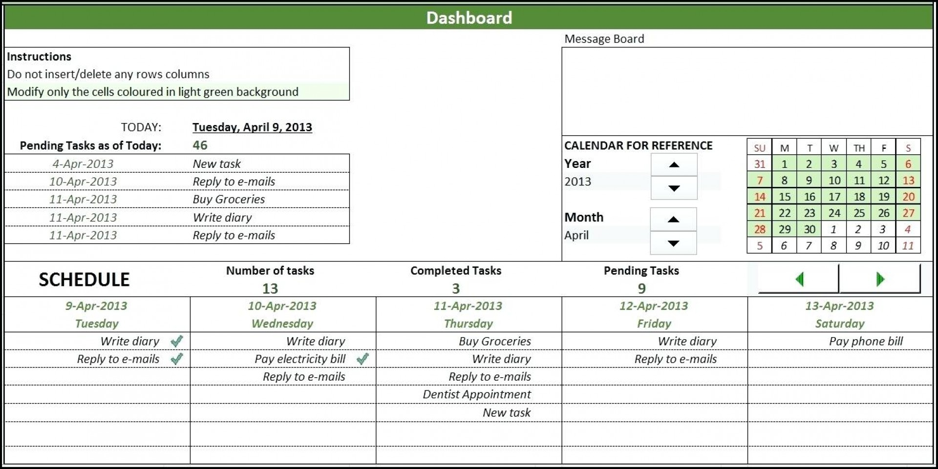 Task Manager Excel Spreadsheet pertaining to 015 Daily Task Tracking Spreadsheet New Project Management Google