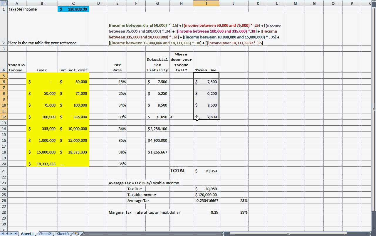 Tax Calculator Excel Spreadsheet Throughout Tax Planning Spreadsheet Example Of Deferred Calculation Selo L Ink