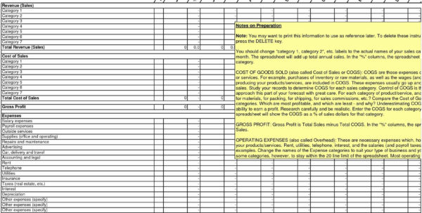 Tax Expense Categories Spreadsheet Intended For Business Expense Categories Spreadsheet Small Excel Accounting