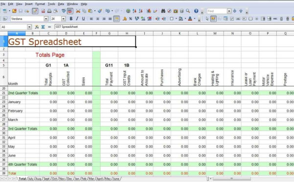 Tax Spreadsheet Inside Spreadsheet Template For Small Businessses And Tax Example Of