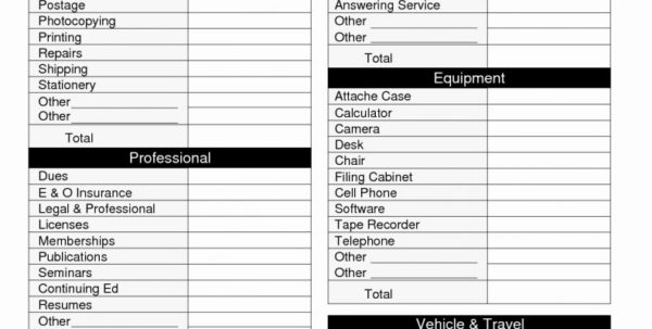Tax Spreadsheet Template Within Tax Spreadsheets Taexpense Categories Spreadsheet Business Templates