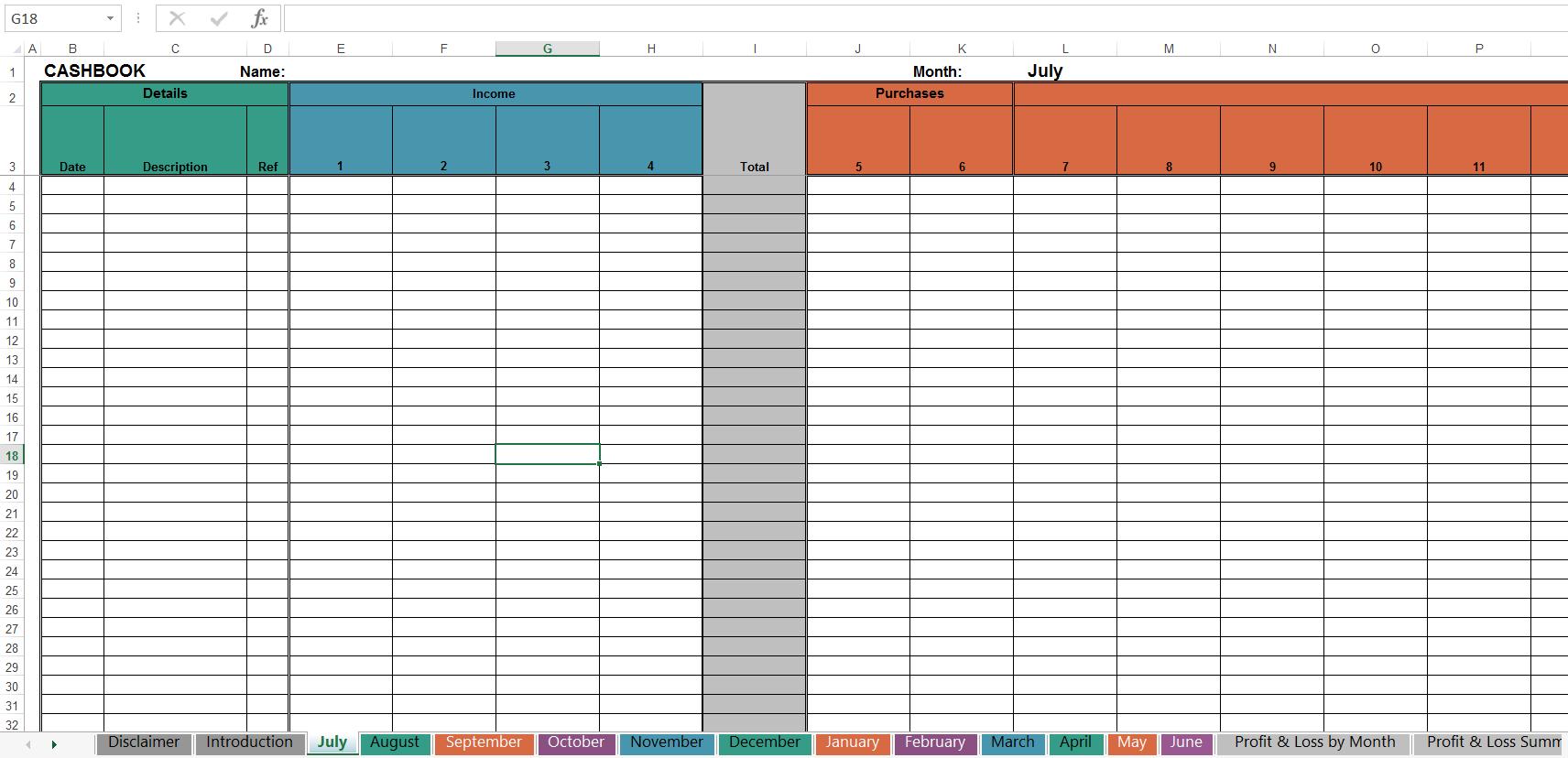 Tax Spreadsheet Templates Australia Inside Free Cashbook Online Tax Solutions