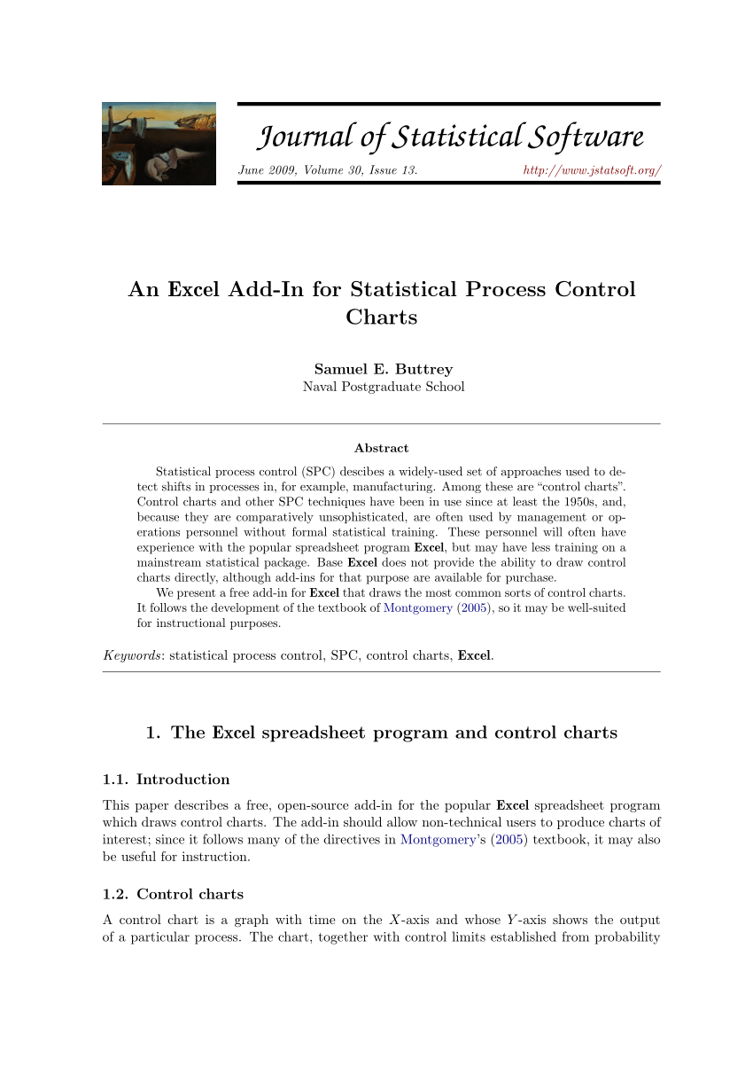 Teach For America Regional Comparison Spreadsheet With Pdf An Excel Addin For Statistical Process Control Charts