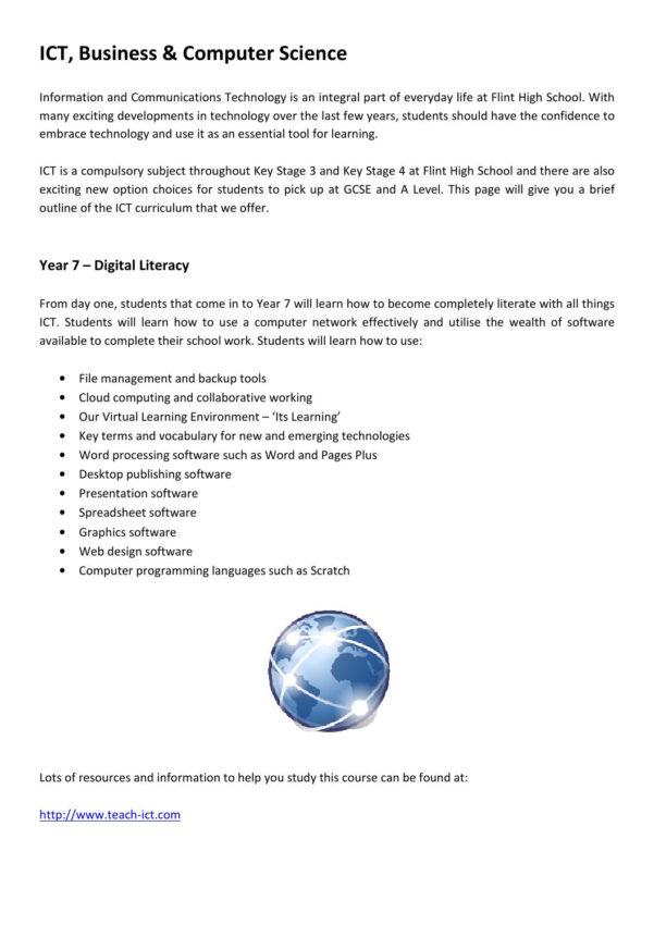 Teach Ict Spreadsheets Inside Ict Websitechas Jenkins  Issuu