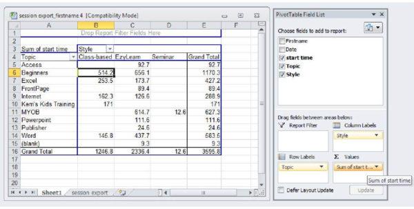 Teach Yourself Excel Spreadsheets With Excel Spreadsheet Training Free Online  Pulpedagogen Spreadsheet