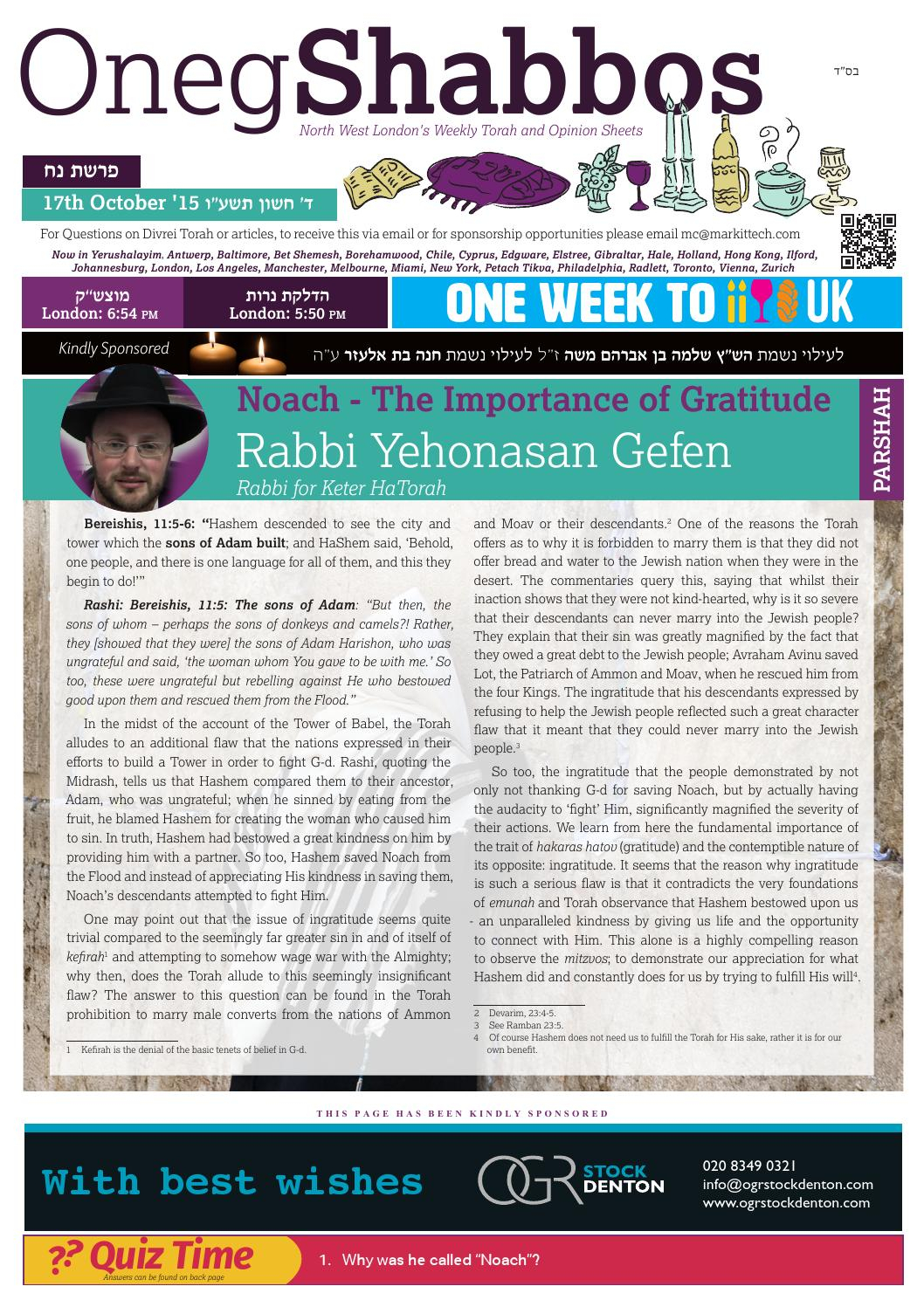 Tehillim Spreadsheet Pertaining To Oneg Noachoneg Shabbos  Issuu