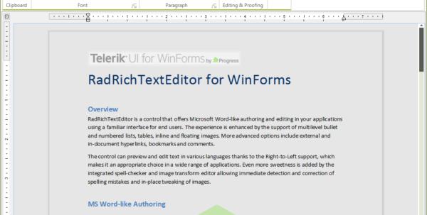 Telerik Spreadsheet Intended For Overview  Radrichtexteditor  Telerik Ui For Winforms Telerik Spreadsheet Google Spreadsheet