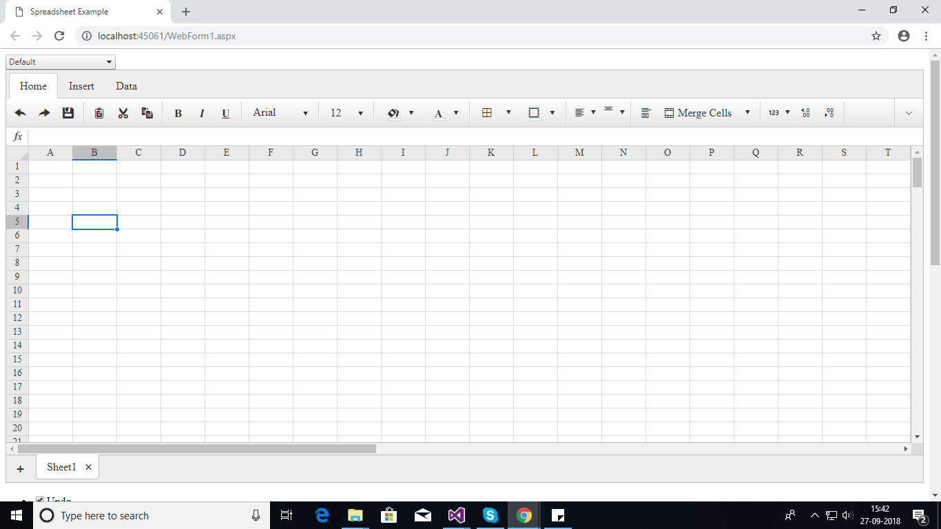 Telerik Spreadsheet With How To Delete Controls From Telerik Rad Spreadsheet  Stack Overflow