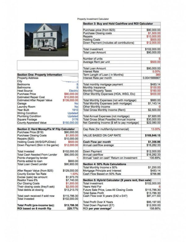 Tenant Spreadsheet Excel Template Intended For Tenant Spreadsheet Excel Template  Laobing Kaisuo