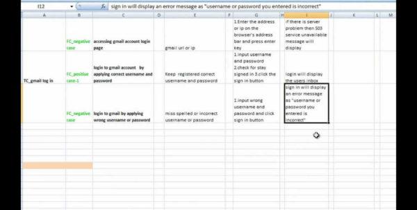 Test Excel Spreadsheet Intended For Singular Test Case Template Xls ~ Ulyssesroom