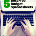 The Budget Kit Excel Spreadsheets Pertaining To Best Microsoft Excel Budgeting Spreadsheets  Free Household