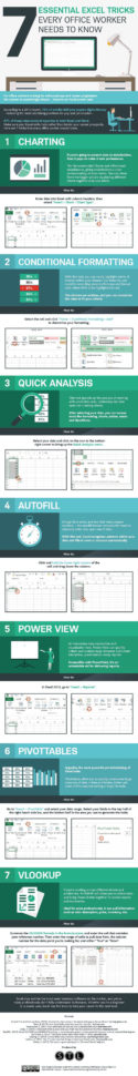 The Spreadsheet Guru Pertaining To 7 Tips To Become A Microsoft Excel Spreadsheet Guru [Infographic