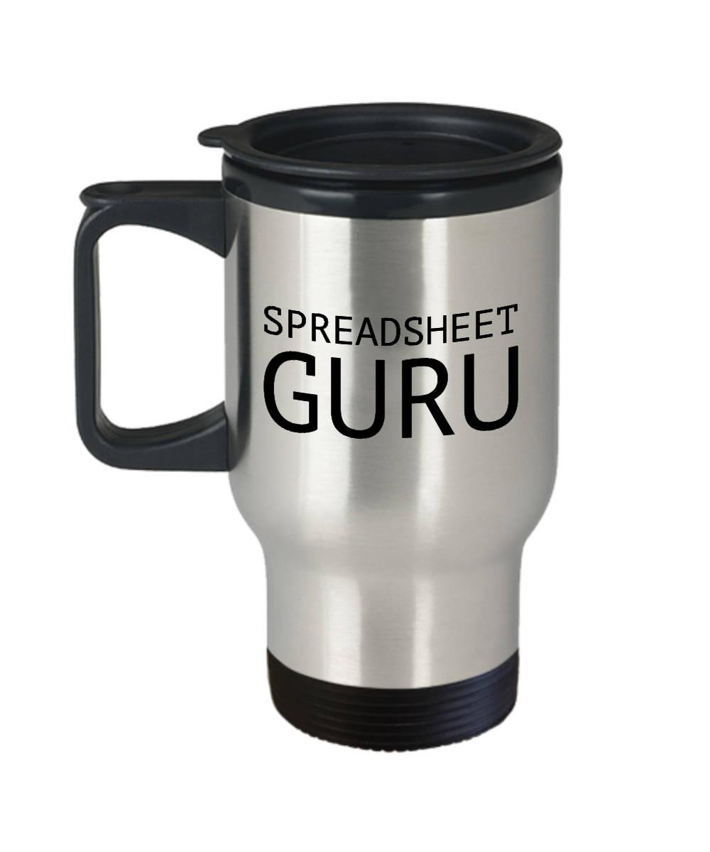The Spreadsheet Guru Regarding Funny Accountant Travel Mug Accountant Gift Idea  Etsy