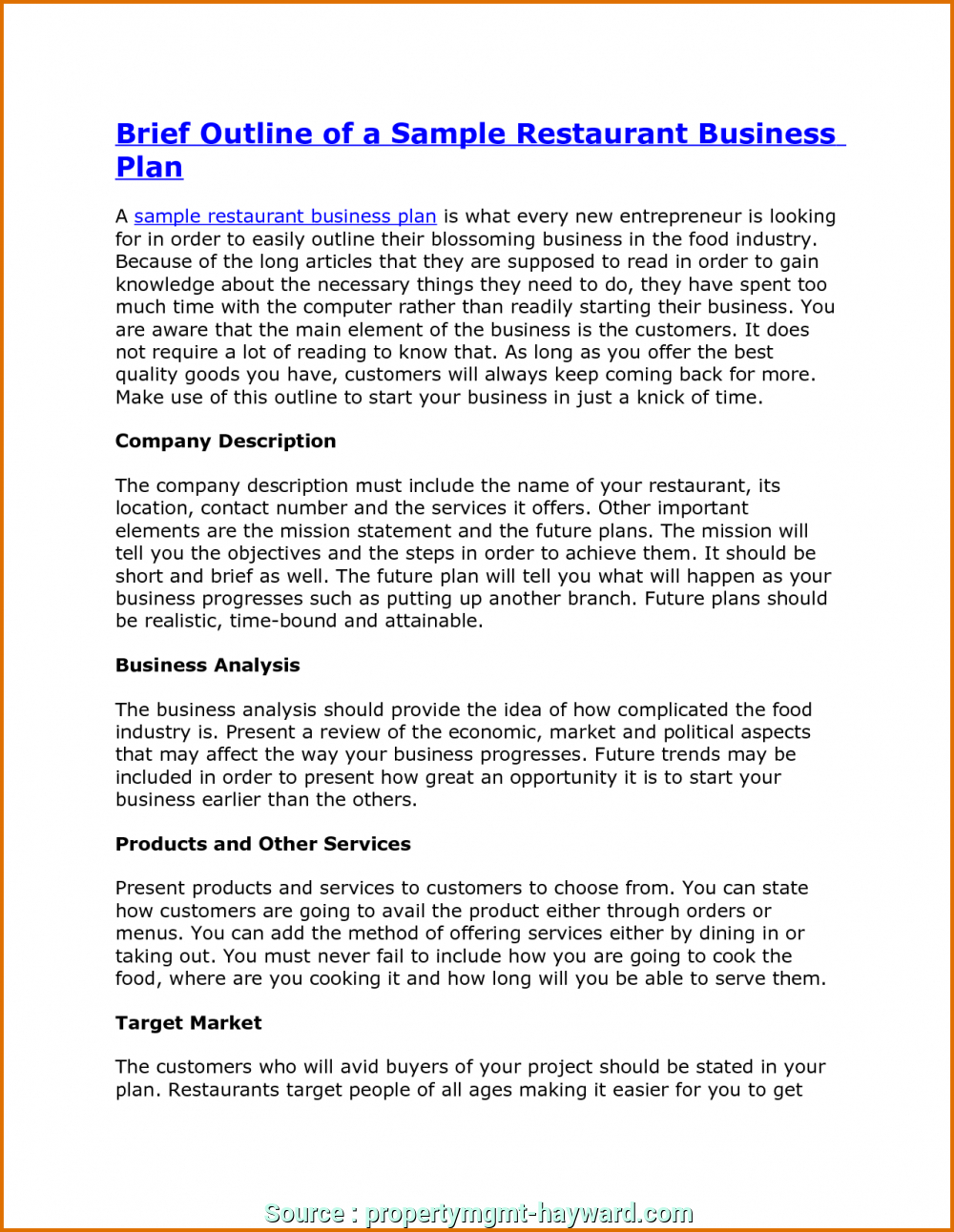 Tiger Spreadsheet Solutions Intended For Business Plan For Restaurant Fantastic Conclusion Solutions Tiger