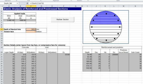 Timber Beam Design Spreadsheet For Using Beam Design Functions  Newton Excel Bach, Not Just An Excel