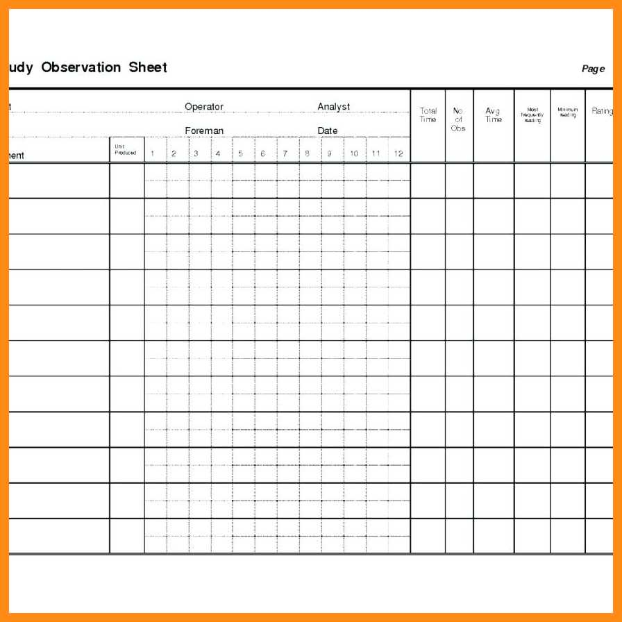 Time And Motion Spreadsheet In 910 Time Clock Sheet Template  Elainegalindo