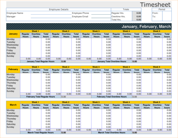 Time Card Spreadsheet Excel Regarding Excel Template With Formulas  Rent.interpretomics.co