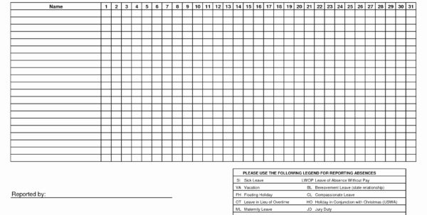 Time In Lieu Spreadsheet Template Within Vacation And Sick Time Tracking Template Free Excel Spreadsheet