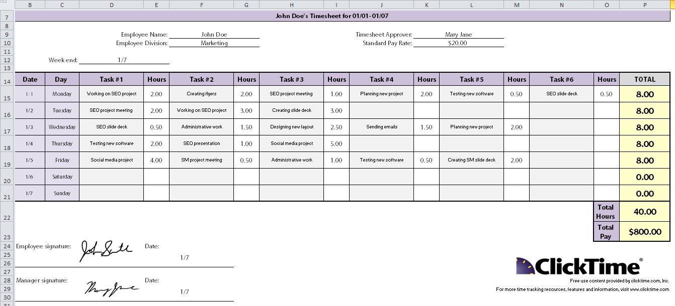 Time Keeping Spreadsheet Template Inside Xls Timesheet Template Canre Klonec Co Time Keeping Excel