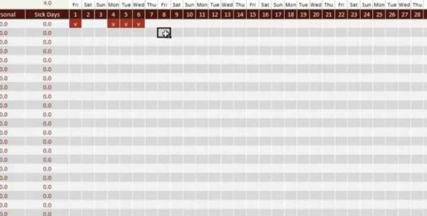 Time Off Accrual Spreadsheet With Employee Vacation Accrual Spreadsheet  Nbd Regarding Time Off