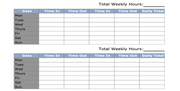 Time Recording Spreadsheet Regarding Sample Time Sheets Spreadsheet Template In Excel Free Download