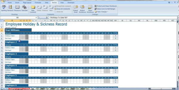 Time Tracker Excel Spreadsheet Within Vacation And Sick Time Tracking Spreadsheet Canre Klonec Co Excel