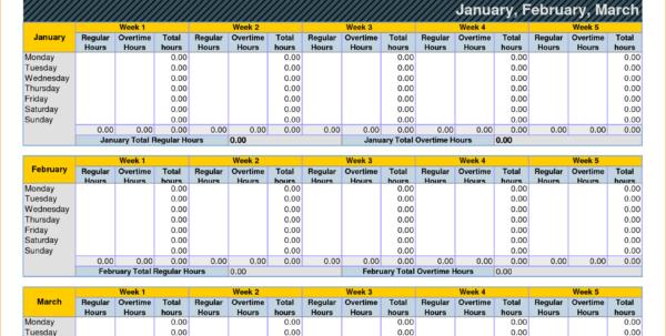 Timesheet Spreadsheet Formula In Excel Timesheet Template With Formulas  My Spreadsheet Templates