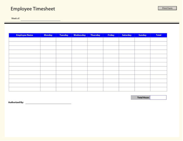 Timesheet Spreadsheet Formula Inside Excel Weekly Timesheet Template With Formulas  Glendale Community