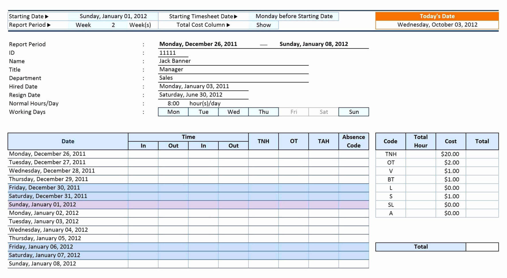 Timesheet Spreadsheet Formula With Excel Timesheet Template With Formulas  Spreadsheet Collections