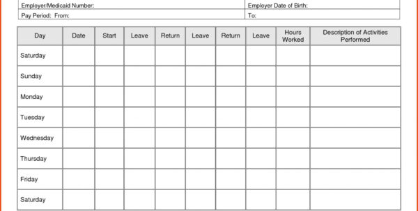 Timesheet Spreadsheet Template Free For 013 Time Sheet Templates Free Daily Timesheet Template Printable