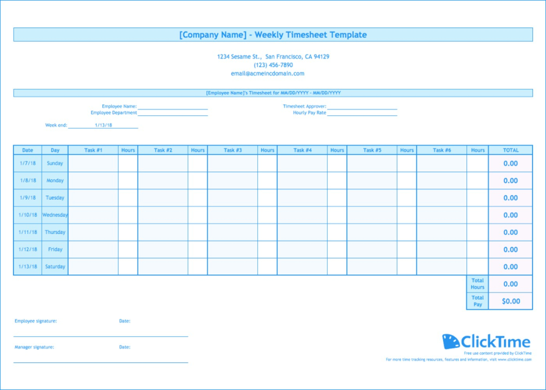 Timesheet Spreadsheet Template Free Inside 002 Time Sheet Templates Free Template ~ Ulyssesroom