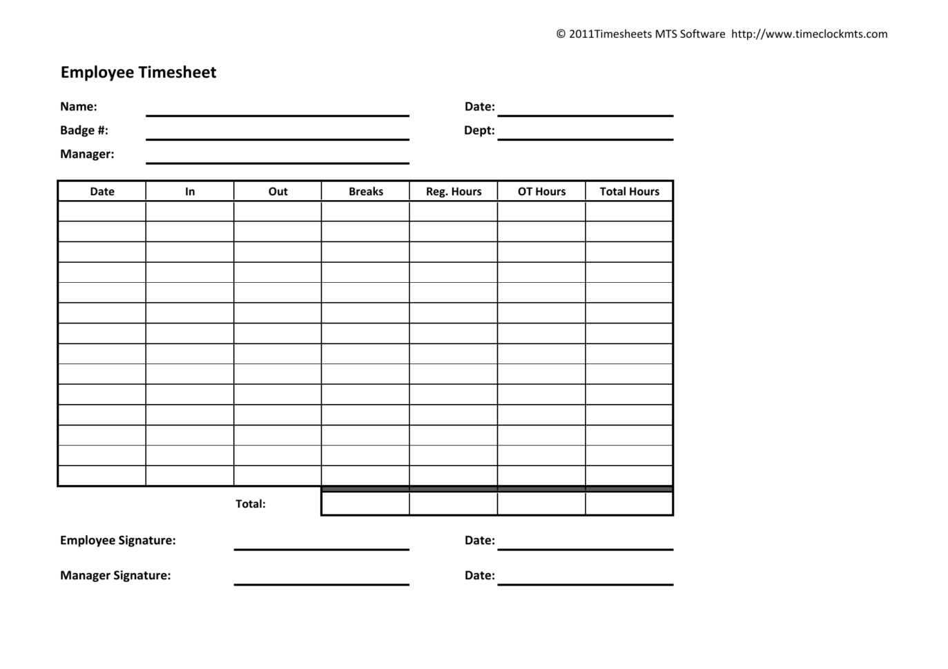 Timesheet Spreadsheet Within Download Weekly Timesheet Template  Excel  Pdf  Rtf  Word