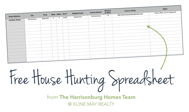 Tip Tracker Spreadsheet With Buyers: Keep Track Of Your House Hunting [Free Spreadsheet