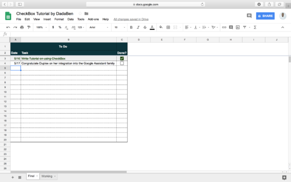 To Do List Spreadsheet For Tutorial: How To Build Your Own Beautiful Todo List Sheet