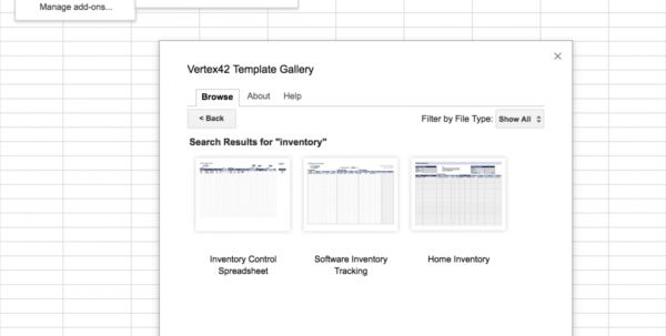 Toner Inventory Spreadsheet Inside Top 5 Free Google Sheets Inventory Templates · Blog Sheetgo