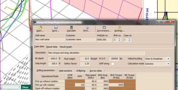 Torque And Drag Excel Spreadsheet Regarding Hawkeye Field W/ Td  Performance Drilling Technology, Inc.