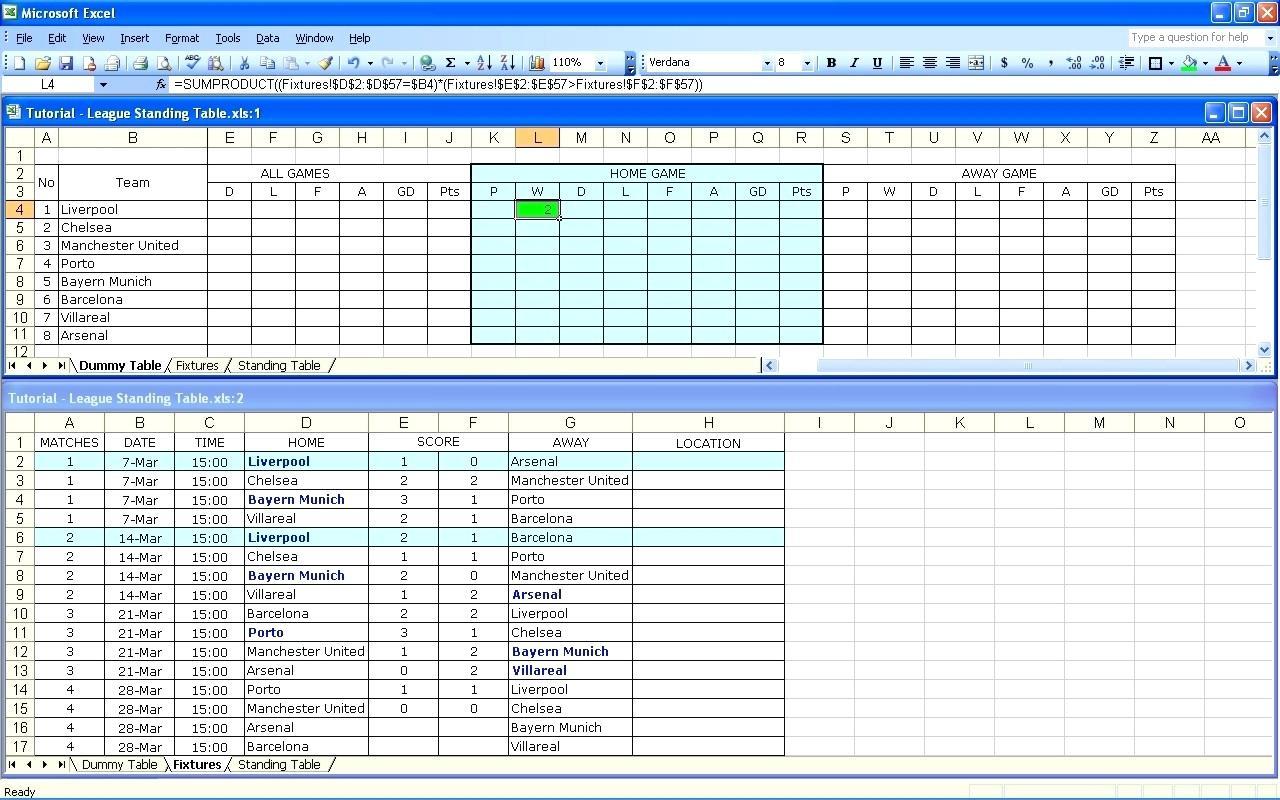 tournament spreadsheet payment spreadshee fifa tournament