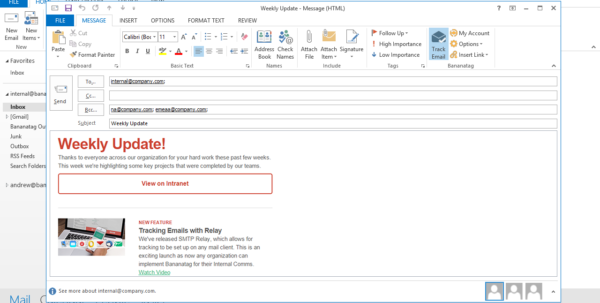 Track Outlook Com Emails In An Excel Spreadsheet Regarding How To Track Internal Emails In Outlook