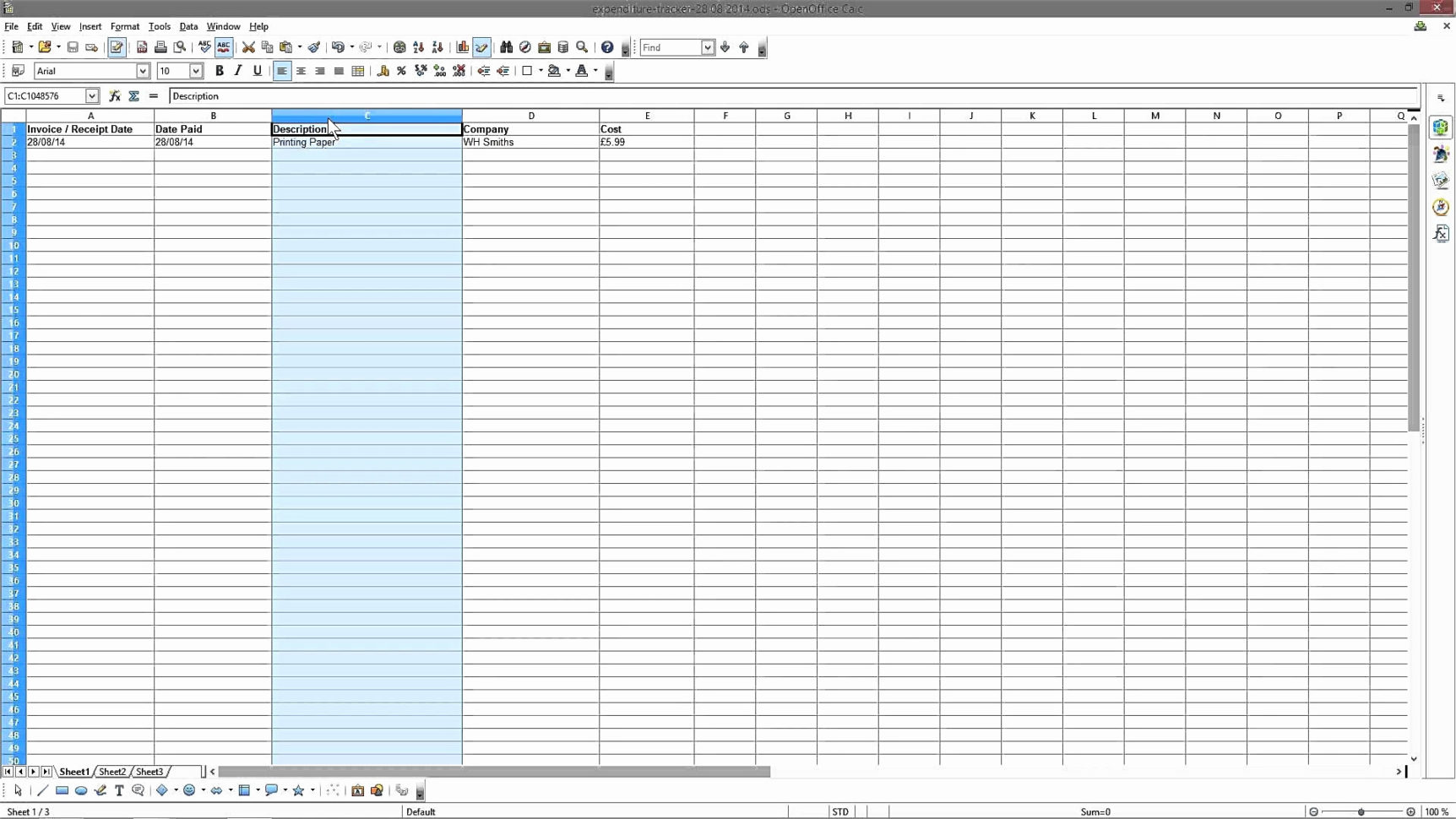 Track Spending Spreadsheet With Regard To Tracking Spending Spreadsheet Homebiz4U2Profit Com – The