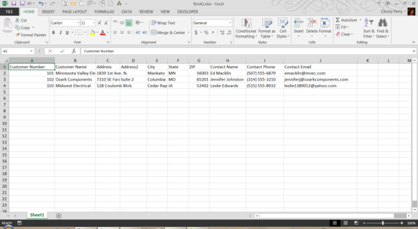 Tracking Complaints Excel Spreadsheet Regarding Ease The Pain Of Data Entry With An Excel Forms Template  Pryor