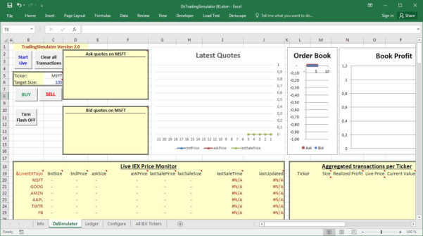 Trading Excel Spreadsheet With Regard To Using A Stock Trading Simulator In Excel — Letyourmoneygrow