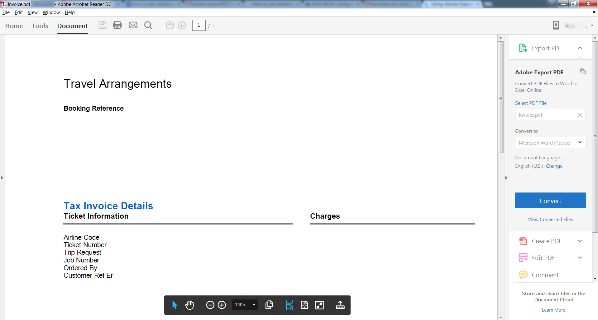 Transfer Pdf To Excel Spreadsheet Throughout Using Adobe Export Pdf