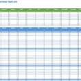 Travel Expense Spreadsheet Intended For Free Expense Report Templates Smartsheet