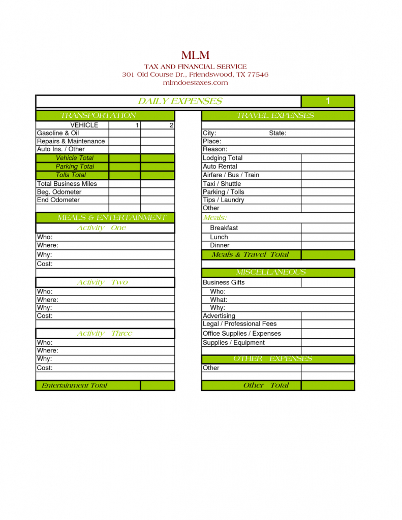 Travel Expense Tracker Spreadsheet Throughout Business Expense Tracker Template Free Excel Templates Travel